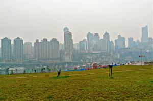 Chongqing im Winter