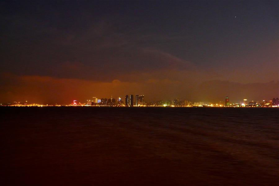 Zhuhai & Macau by night