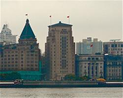 Shanghai Bund - Bank of China