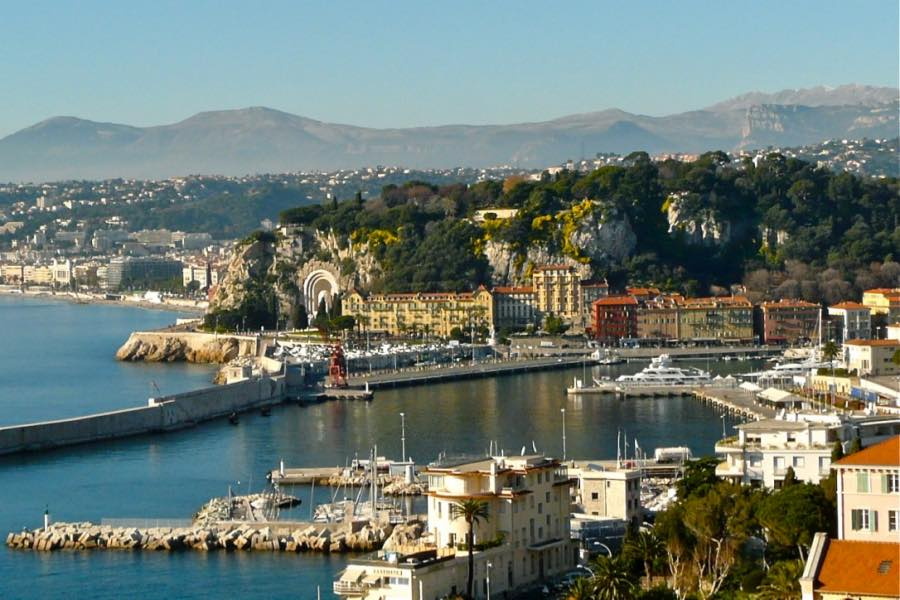 Nizza Port Lympia & Le Chateau