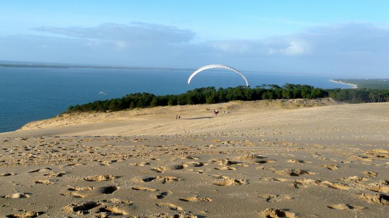 Dune du Pilat am Atlantik