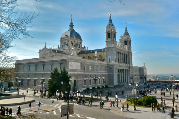 Kathedrale in Madrid