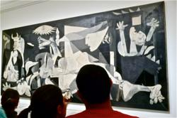 Picasso Gemälde Guernica in Madrid